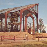 Historic image of Wayfarer Chapel