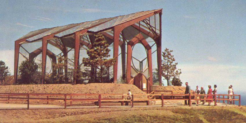 Wayfarers Chapel original photograph from 1951