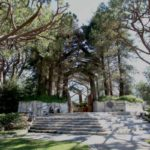 Entrance to wayfarers chapel