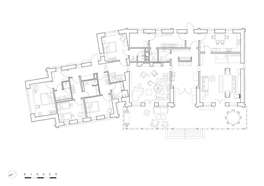 Floor Plan -Suzdal Estate House / FORM Bureau